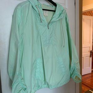 Mint Gap Athletic Pullover Jacket